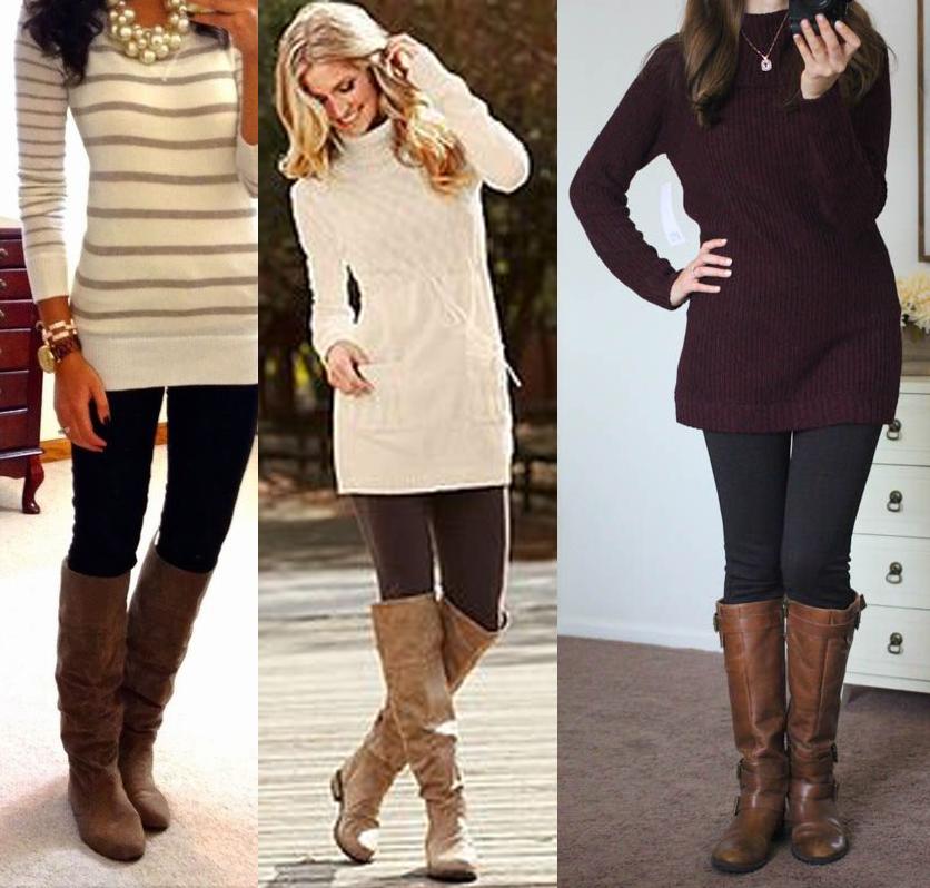 maglione lungo lana