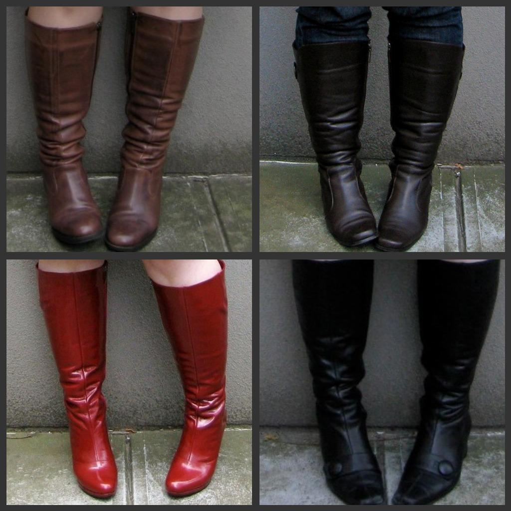 Piccoli Stivali E Sopra Lei stivali per polpacci grossi o piccoli – anna venere | moda