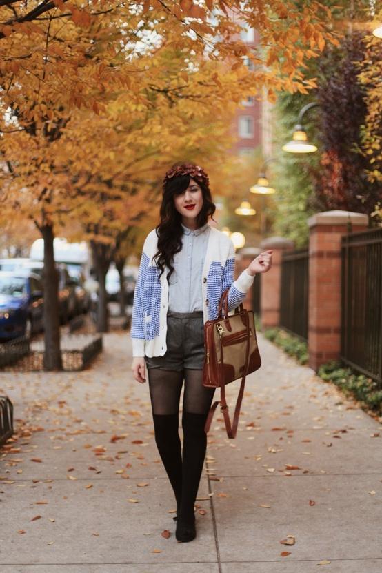 9eaa1608c25c57 Come indossare gli shorts in inverno – Anna Venere | Moda per ...