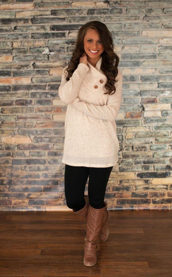 codice promozionale 4c630 2398d La moda dei Leggings con il Maglione Lungo – Anna Venere ...