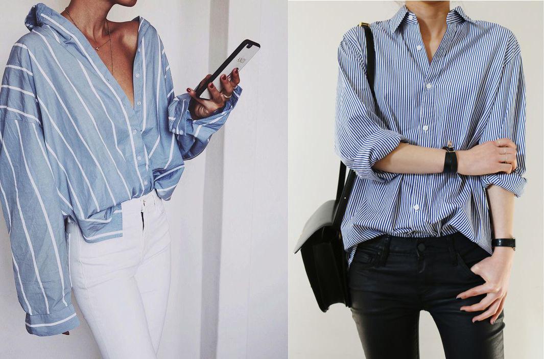 5ebf0434d7b4d9 Come abbinare la camicia a Righe – Anna Venere | Moda per principianti